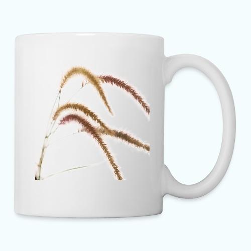 Tender grass watercolor minimalism nature - Mug