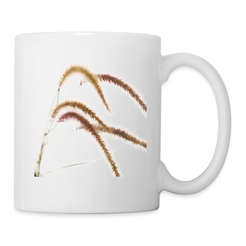 Tender grass watercolor minimalism nature - Mug