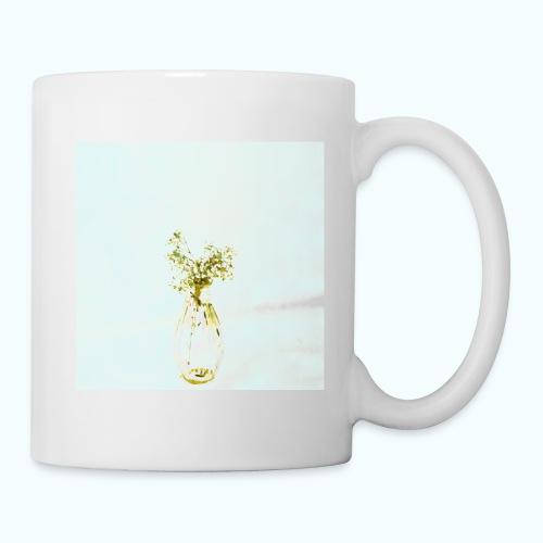 Abstract floral minimalism watercolor - Mug