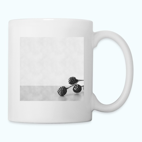 Gray minimalism composition watercolor - Mug