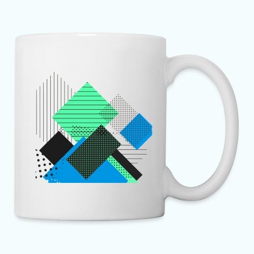 Abstract rectangles pastel - Mug