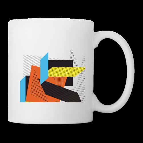 Vintage shapes abstract - Mug