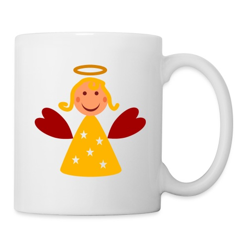 Schöner Engel mit Heiligenschein Süßes Engelchen - Tasse