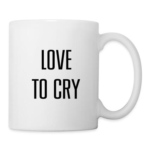 love to cry - Mug blanc