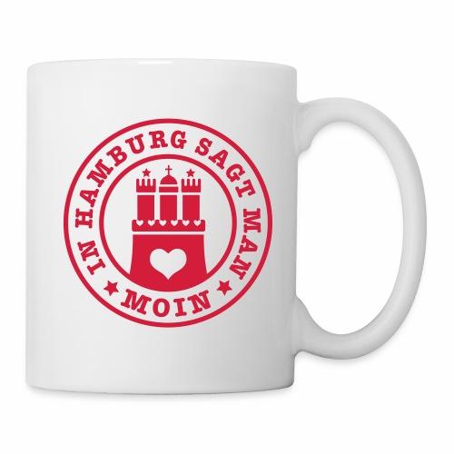 109 In Hamburg sagt man MOIN Wappen Spruch - Tasse