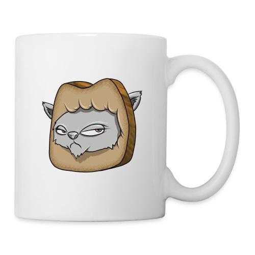 Katze und das Toastbrot - Tasse