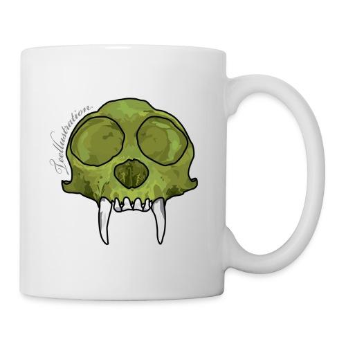 GreenMonkeySkull png - Mok