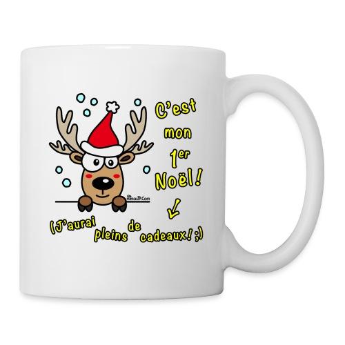 Renne - C'est mon Premier Noël - Cadeaux Drôles - Mug blanc