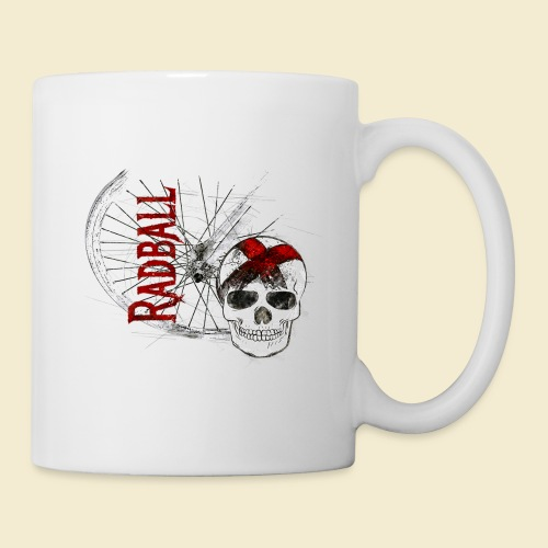 Radball | Cycle Ball Skull - Tasse