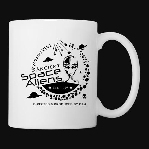 CIA Space Aliens - Mug blanc