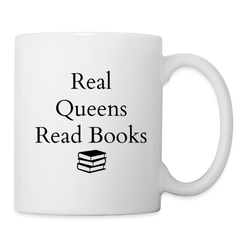Real Queens Read Books - Mug