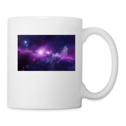 tshirt galaxy - Mug blanc
