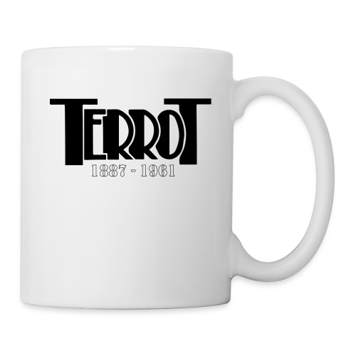 terrot rectangulaire final illustrato av - Mug blanc