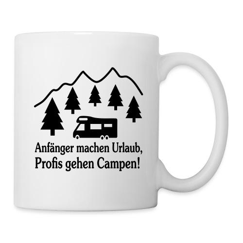 Camping Geschenk Campen Gehen Urlaub Spruch - Tasse