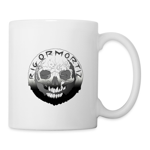Rigormortiz Black White Design - Mug