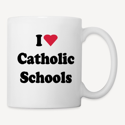 MUG - I LOVE CATHOLIC SCHOOLS - Mug