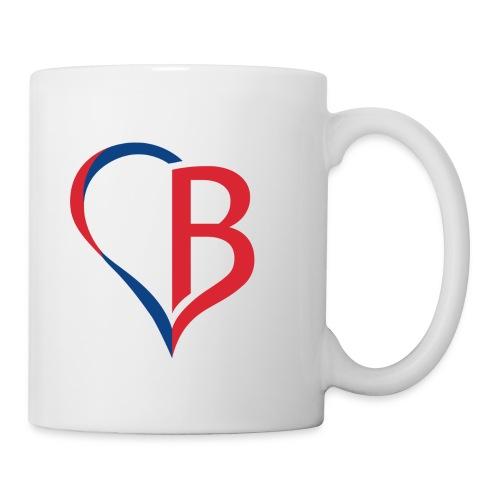 Logo Rot/Blau - Tasse
