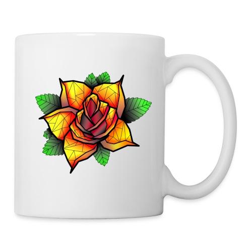 rose - Mug blanc