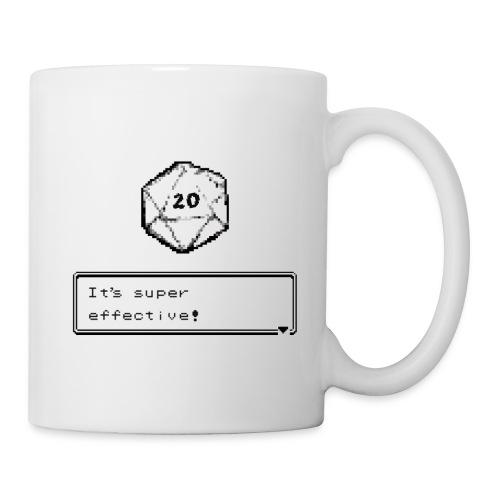 Kriittinen osuma d20 Super Effective! - D & D Dnd - Muki
