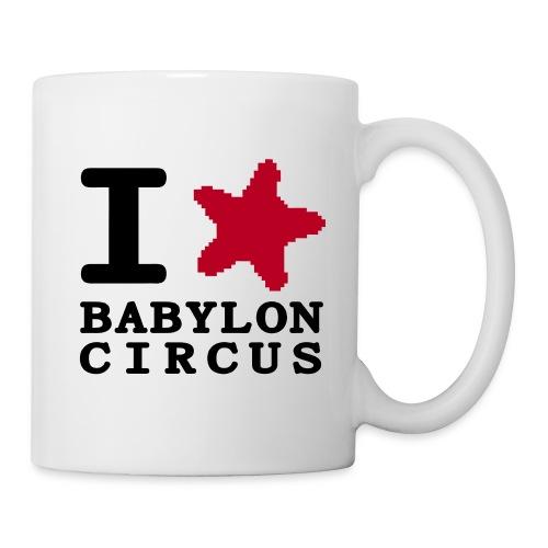 Mug I Love Babylon Circus - Mug blanc