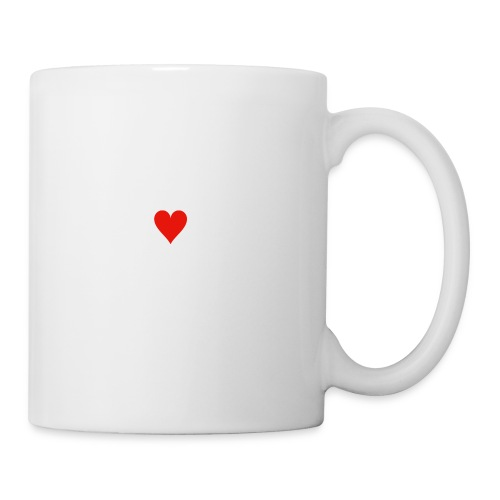 coeur png - Mug blanc