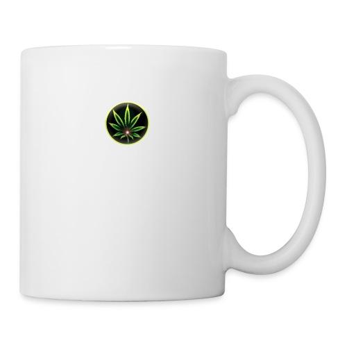 cannabis-vue-densemble - Mug blanc