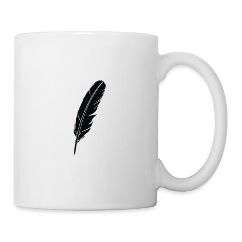 Plume Jug - Mug blanc