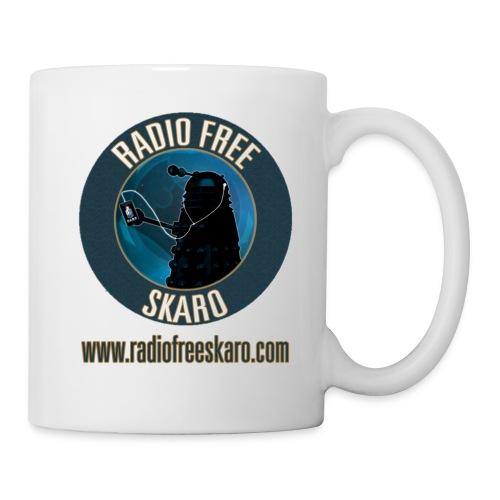 Radio Free Skaro Logo 2011 navy png - Mug