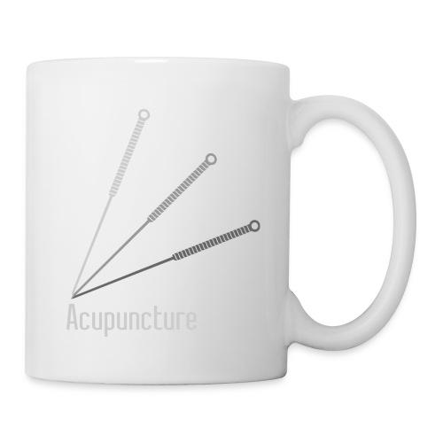 Acupuncture Eventail (logo blanc) - Mug blanc