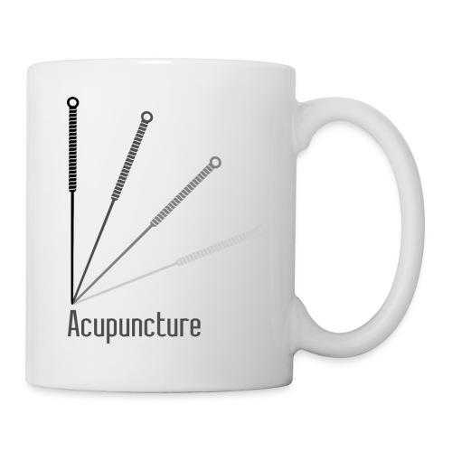 Acupuncture Eventail (logo noir) - Mug blanc