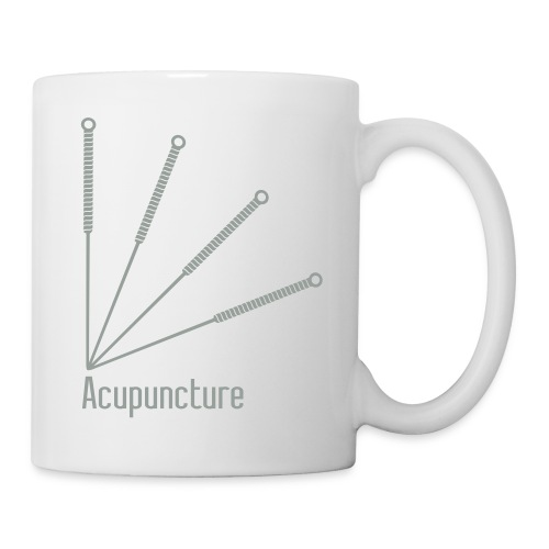 Acupuncture Eventail vect - Mug blanc