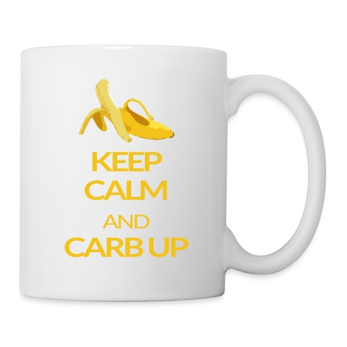 KEEP CALM and CARB UP - Tasse