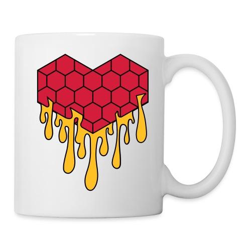 Honey heart cuore miele radeo - Tazza