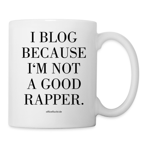 I-Blog-because - Tasse