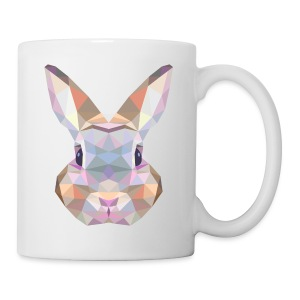 Triangle vector bunny - Tazza