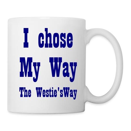 I chose My Way Navy - Mug