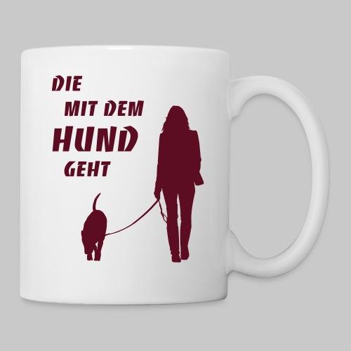 Die mit dem Hund geht 2 - Tasse