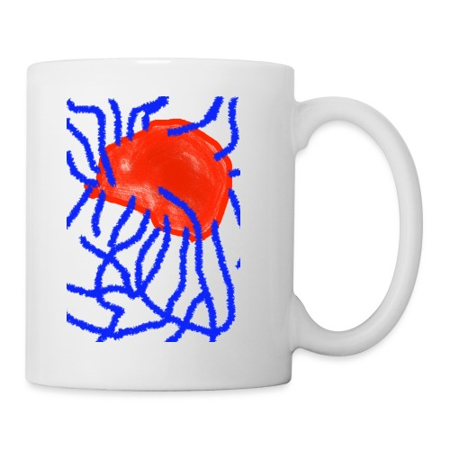 Red and Blue - Tasse