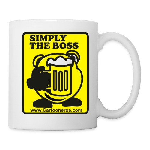 Simply the Boss - Mug