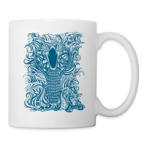 Snake-and-Water-in-Blue - Taza