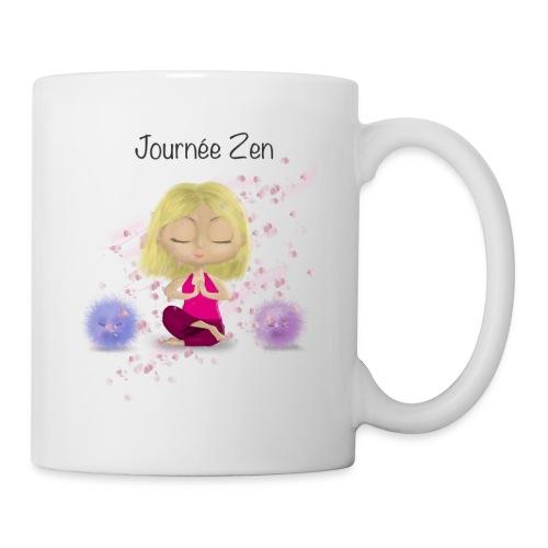 Journée Zen - Mug blanc