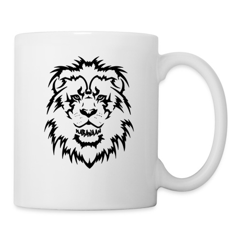Karavaan Lion Black - Mok
