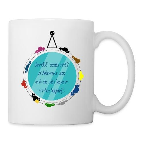 Spiegelschrift - Tasse