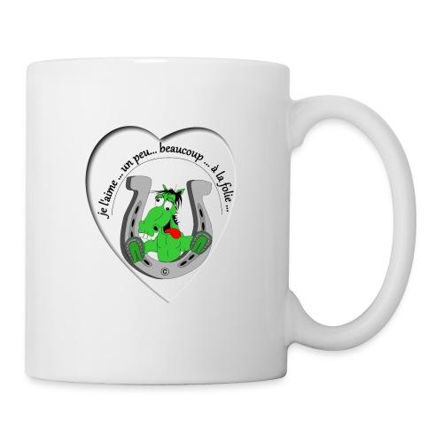 cheval comic FS - Mug blanc