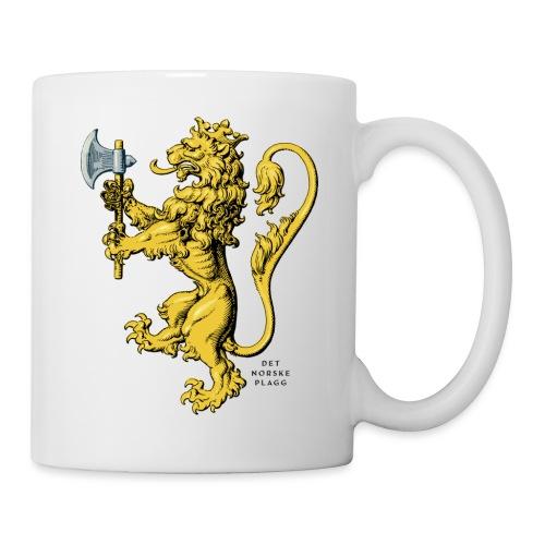 Den norske løve i gammel versjon - Kopp