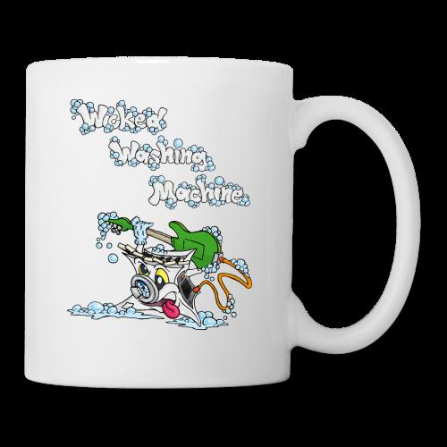 Wicked Washing Machine Cartoon and Logo - Mok