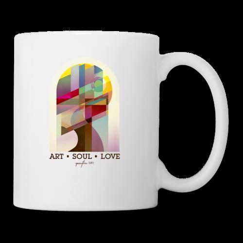 Farbenlehre - Tasse