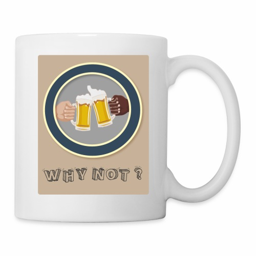 WHY NOT ? (WN) - Mug blanc