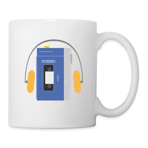 Stereo walkman in blue - Mug