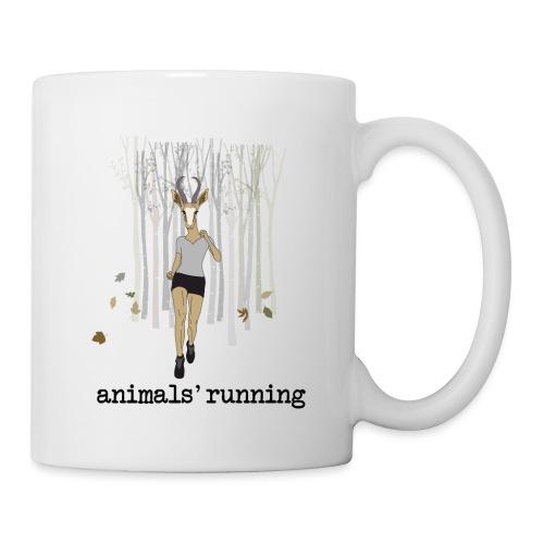 Antilope running - Mug blanc
